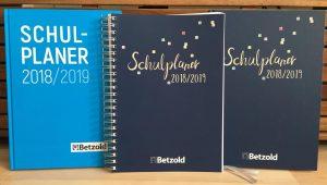 Neues Schuljahr – neuer Planer