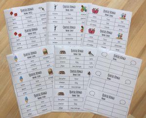 Quassel - Bingo: Gesprächsanlass und genaues Zuhörspiel
