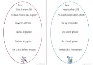 Osterferienerzählung: Die Lese – Leine
