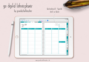 go digital Lehrerplaner – by grundschulteacher